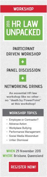 2013 HR Law Unpacked